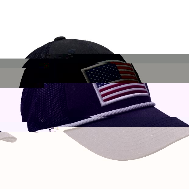 Smilethealbum - American Trucker Hat: Navy