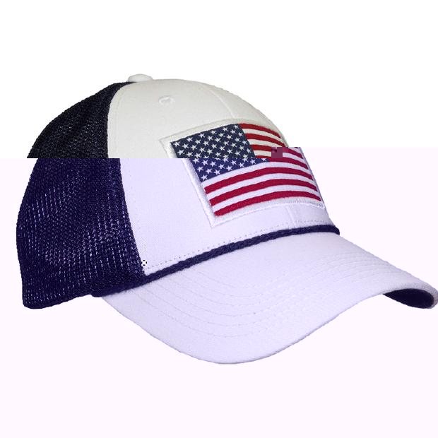 Smilethealbum - American Trucker Hat: White
