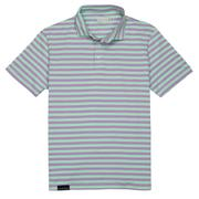 Smilethealbum - Covington Polo: Orchid Stripe
