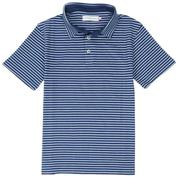Smilethealbum - Boys - Covington Polo: Patriot Blue / Porch Blue Stripe