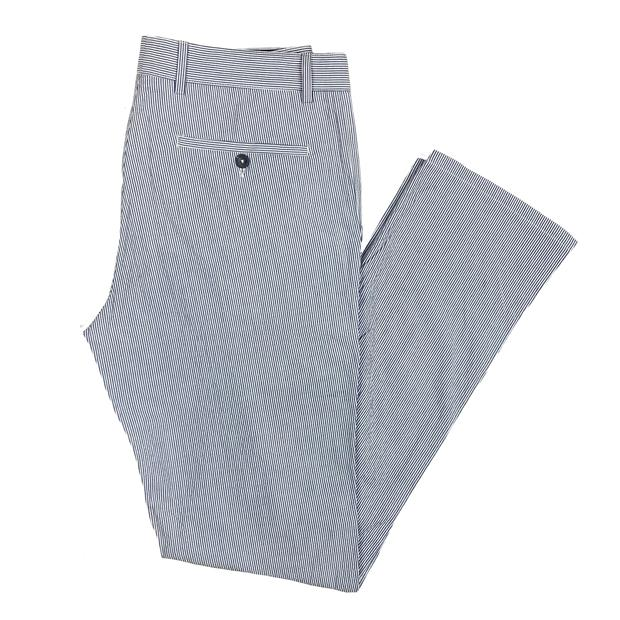 Smilethealbum - Emerson Pant: Patriot Blue Ticking Stripe