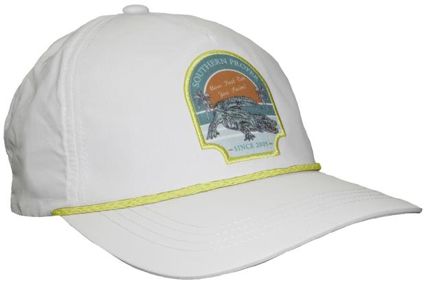 Smilethealbum - Gator Five Panel: Porch White