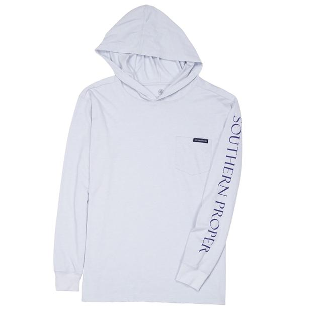 Smilethealbum - Hoodie Tee: Heather Grey Dawn