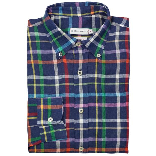 Smilethealbum - Lauderdale Shirt: Seagrove Plaid