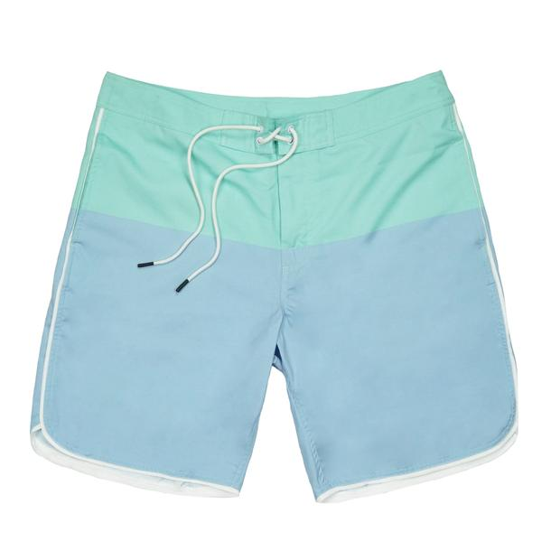 Smilethealbum - Seaside Swim Short: Skyway / Brook Green