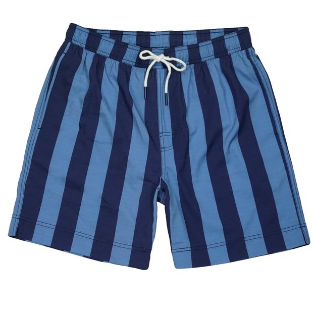 Smilethealbum - Southern Swim Trunk: Awning Stripe