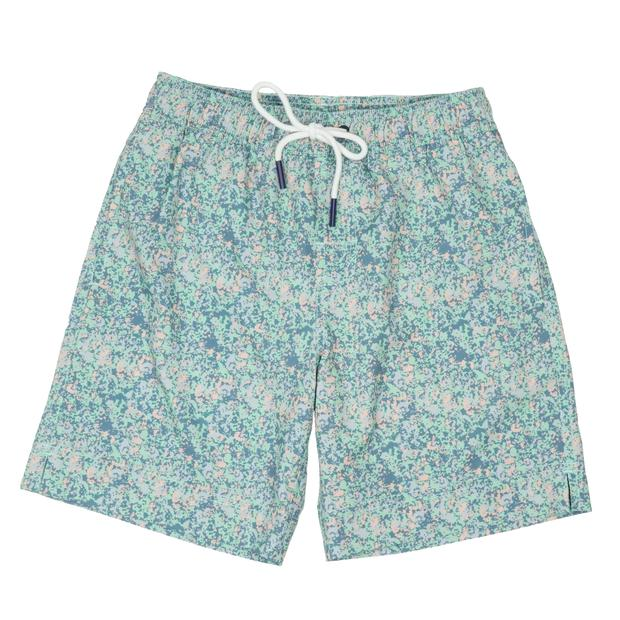 Smilethealbum - Boys - Southern Swim Trunk: Splatter Camo