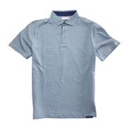Smilethealbum - Covington Polo: Patriot Blue / Porch White Stripe