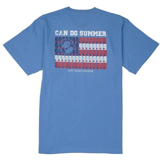 Smilethealbum - Can Do Summer Tee: Riviera