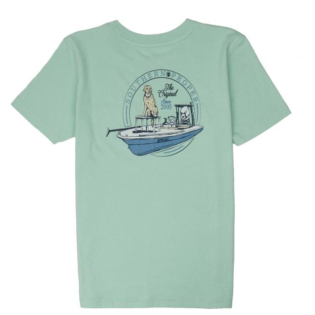 Smilethealbum - Boys - First Mate Tee: Gossamer