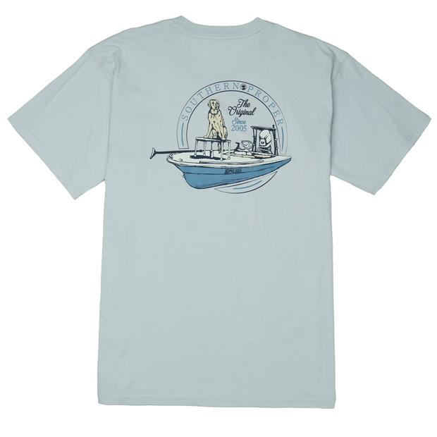 Smilethealbum - First Mate Tee: Grey Dawn