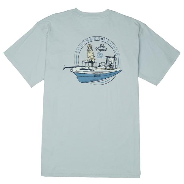 Smilethealbum - Boys - First Mate Tee: Grey Dawn