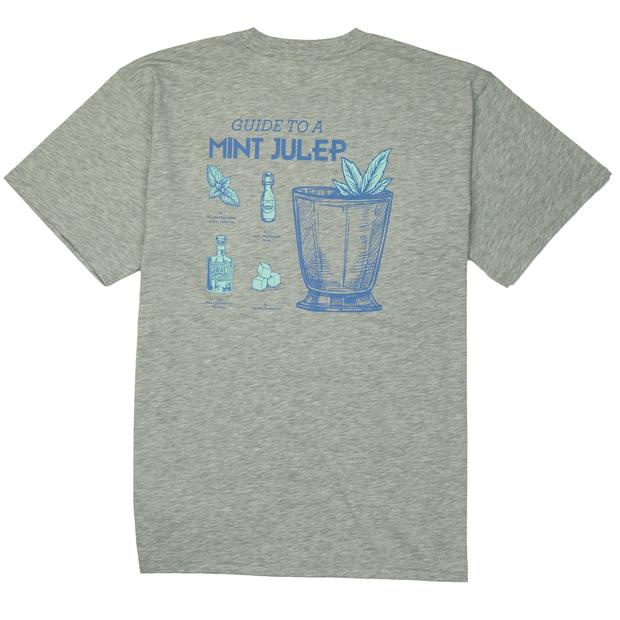 Smilethealbum - Guide to a Mint Julep Tee: Heather Grey