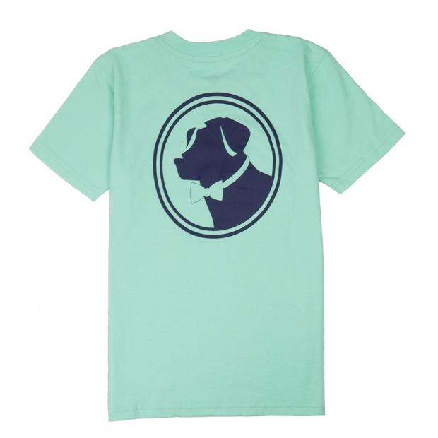 Smilethealbum - Boys - Original Logo Tee: Brook Green