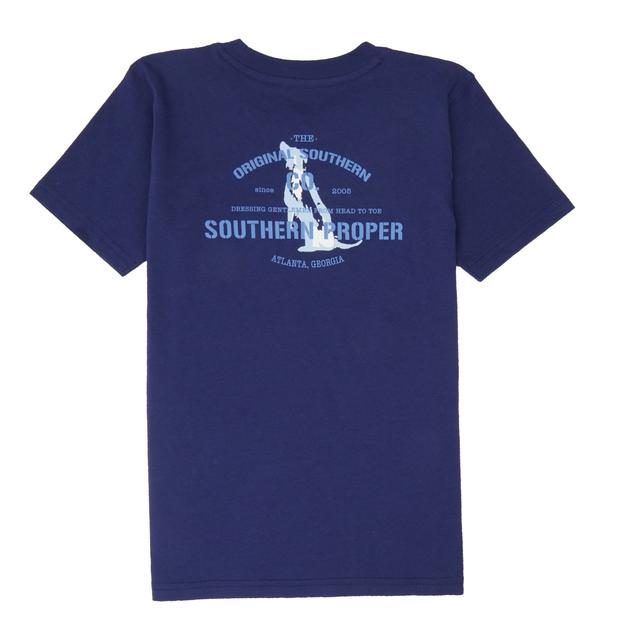 Smilethealbum - Boys - Original Southern Co Tee: Patriot Blue