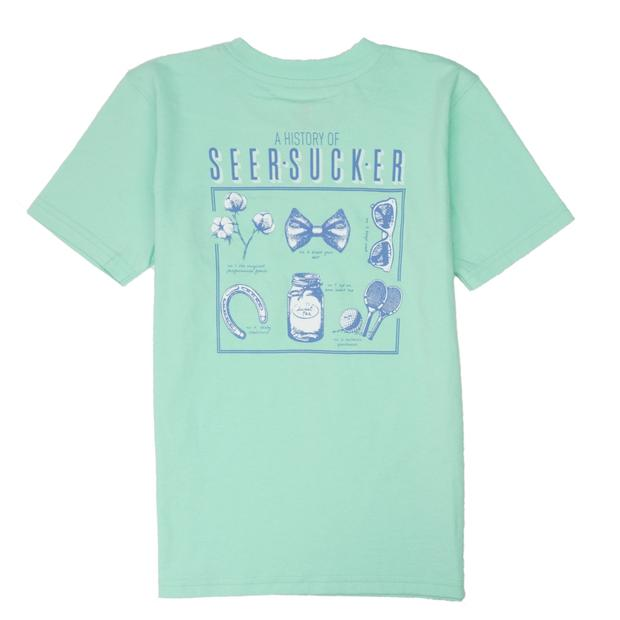 Smilethealbum - Boys - History of Seersucker Tee: Brook Green