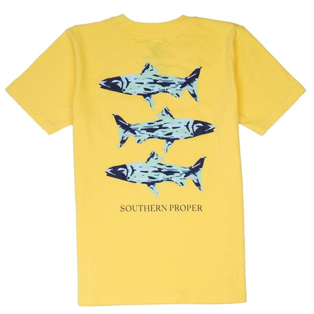 Smilethealbum - Boys - Southern Waters Tee: Snap Dragon