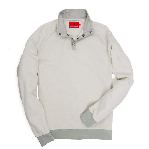 Smilethealbum - Blue Ridge Pullover - Glacier Grey