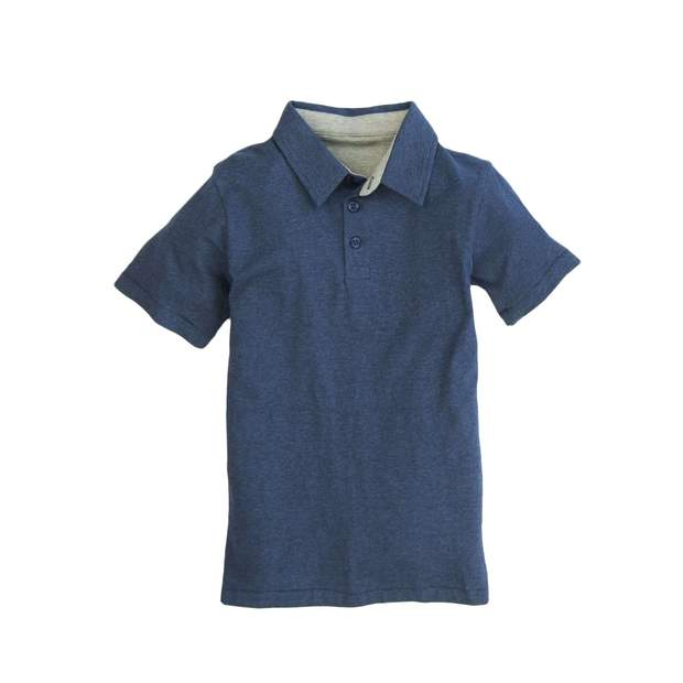Smilethealbum - Boys - Covington Polo: Heather Proper Navy