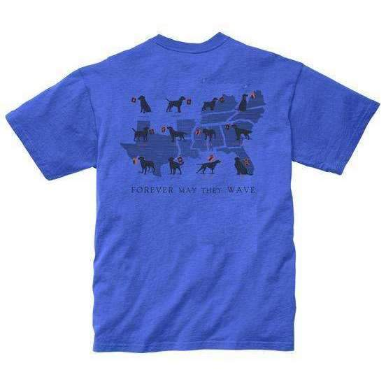Smilethealbum - Boys - Forever May They Wave Tee: River Blue