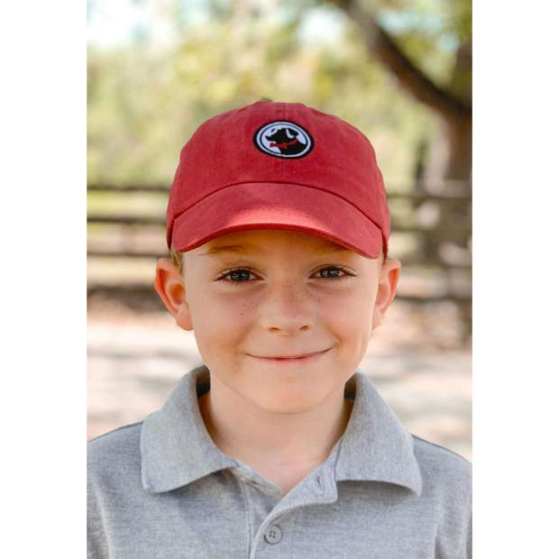Smilethealbum - Boys - Little Frat Hat: Red