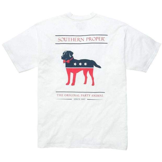 Smilethealbum - Boys - Party Animal Tee: White