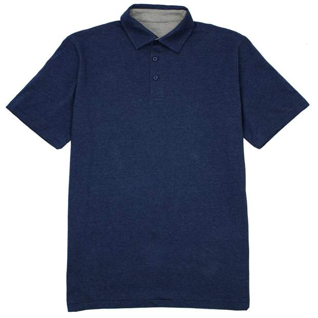 Smilethealbum - Covington Polo: Heather Proper Navy
