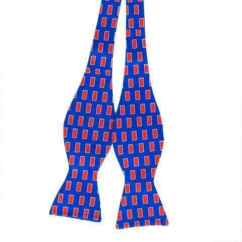 Smilethealbum - Kansas Gameday Bow: Blue