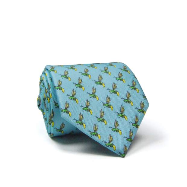 Smilethealbum - Firefly Tie: Light Blue