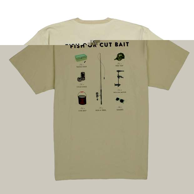 Smilethealbum - Fish Or Cut Bait Tee: Grits