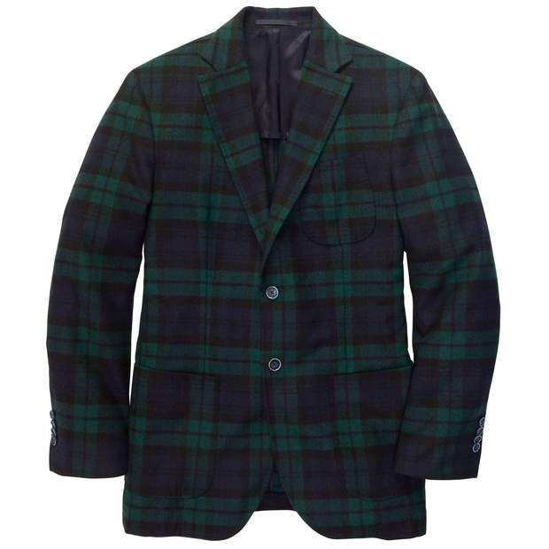 Smilethealbum - Gentleman's Jacket: Blackwatch Plaid