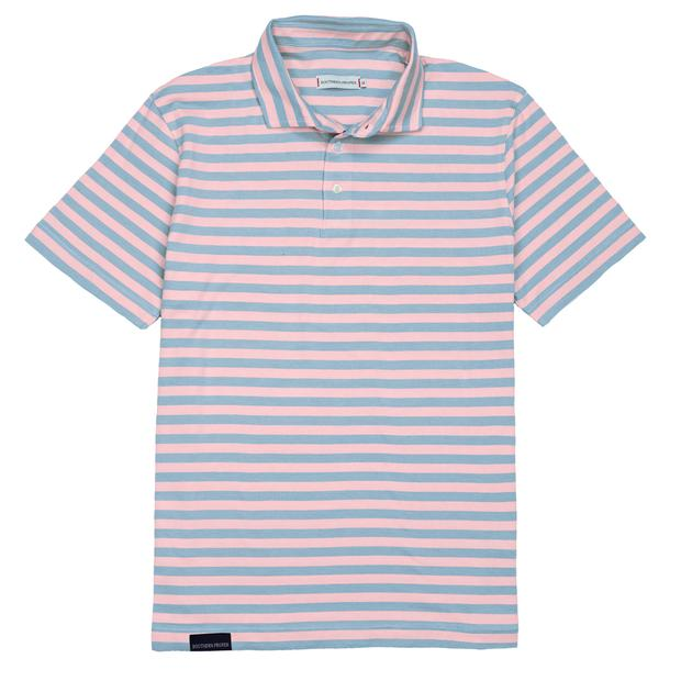 Smilethealbum - Covington Polo: Skyway Stripe