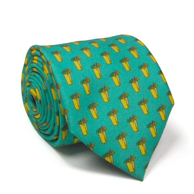Smilethealbum - Lemonade Tie: Punch Green