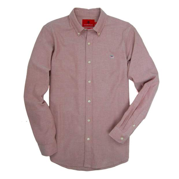 Smilethealbum - Party Animal Oxford - Dusty Cedar
