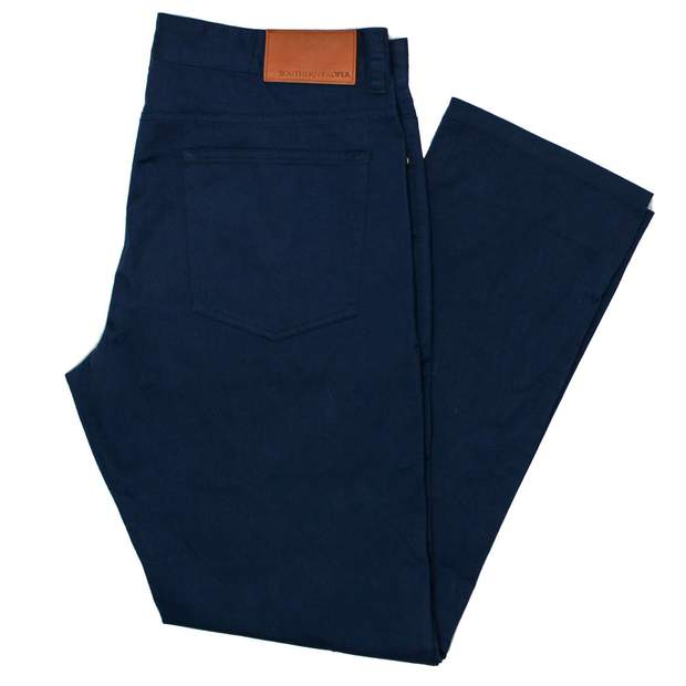 Smilethealbum - Perry Five Pocket: Proper Navy