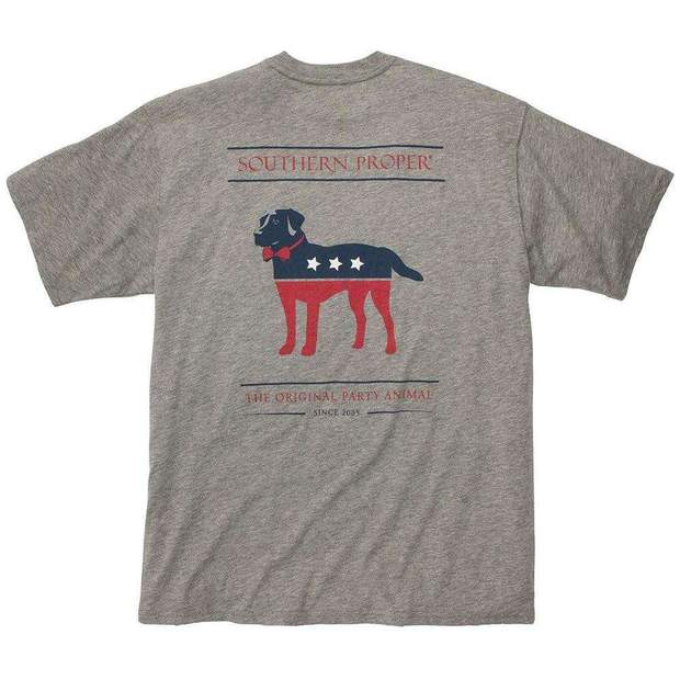 Smilethealbum - Party Animal Tee: Grey