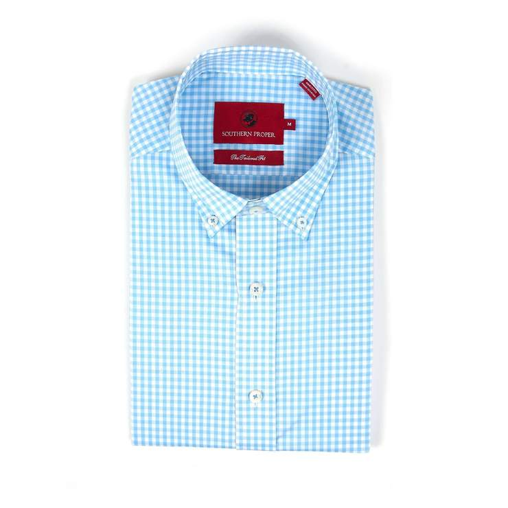 Smilethealbum - The Henning Button Down - Light Blue