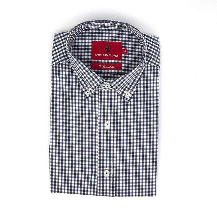 Smilethealbum - The Henning Button Down - True Navy